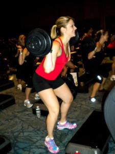 If I'm smiling this wide while doing squats...it has to be fun!! :)