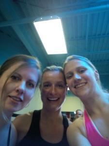 Sara, Maggie & Sarah Pre-Workout