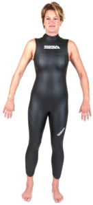 Sleeveless Wet Suit