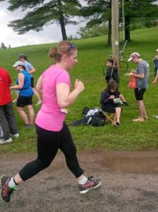 Sara Run Finish 2