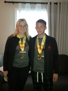 Sara and Neil Medals